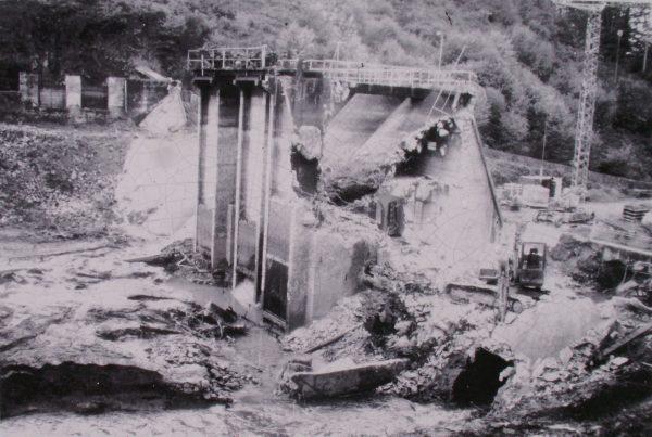 Kernansquillec Dam, Léguer river, France