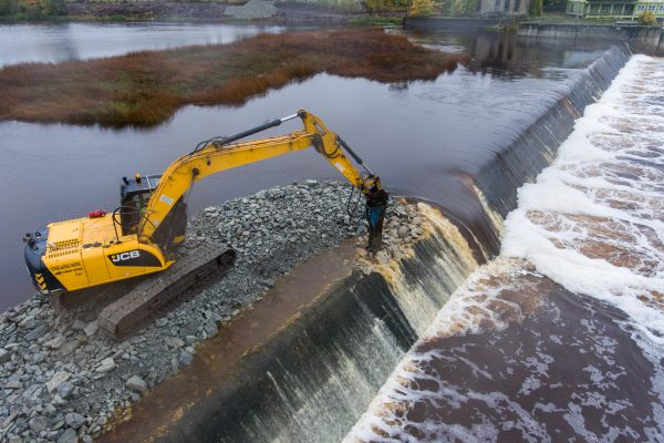 Starting the works on the Sindi Dam Removal.