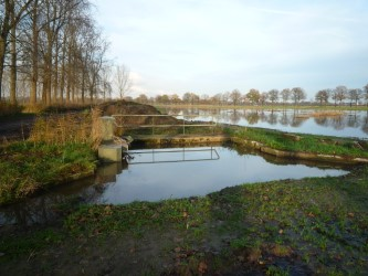 Four weirs removed on the Reusel Brook, North Brabant, The Netherlands