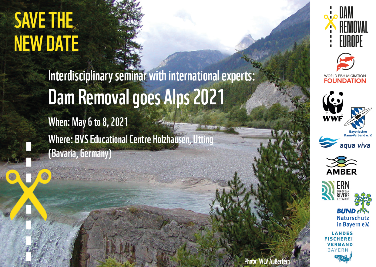 Dam Removal goes Alps